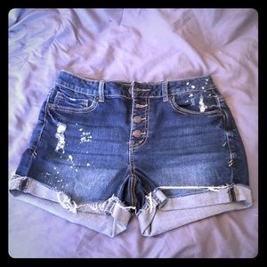 Mudd distressed shorts